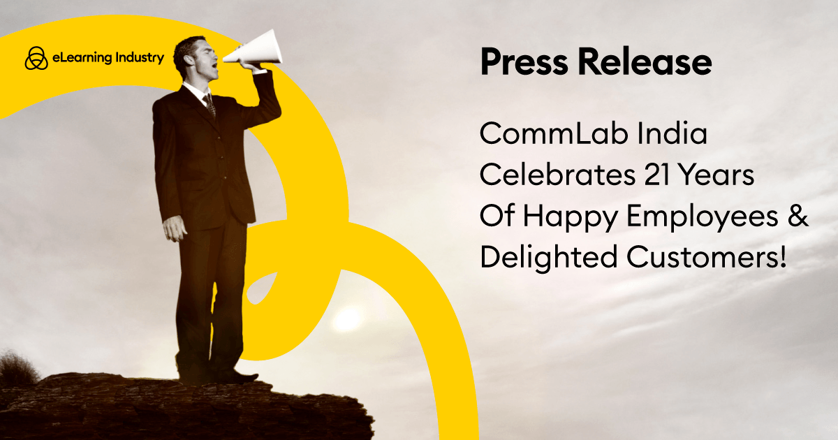 CommLab India Celebrates 21 Years Of Happy Employees amp Delighted Customers