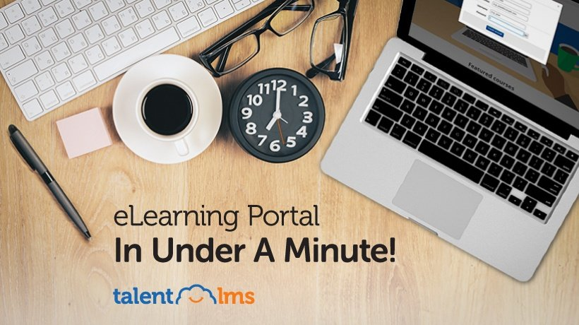 Start Your FREE eLearning Portal In 30''