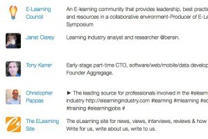 The most influential eLearning Professionals on Twitter