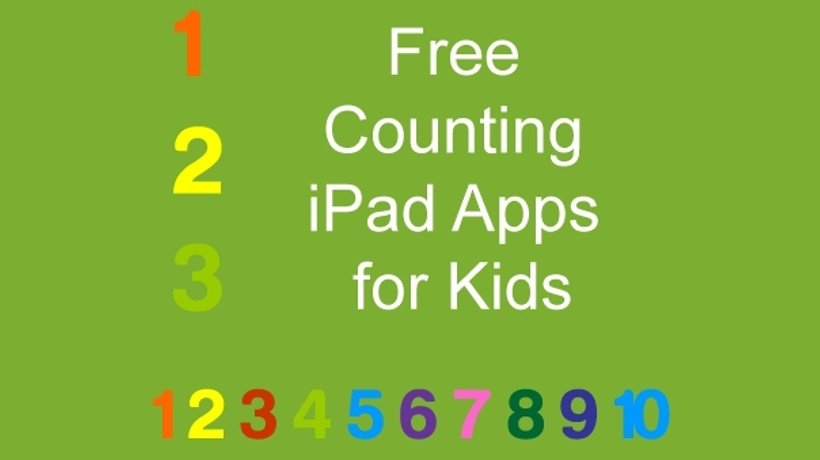 21 Free Counting iPad Apps For Kids