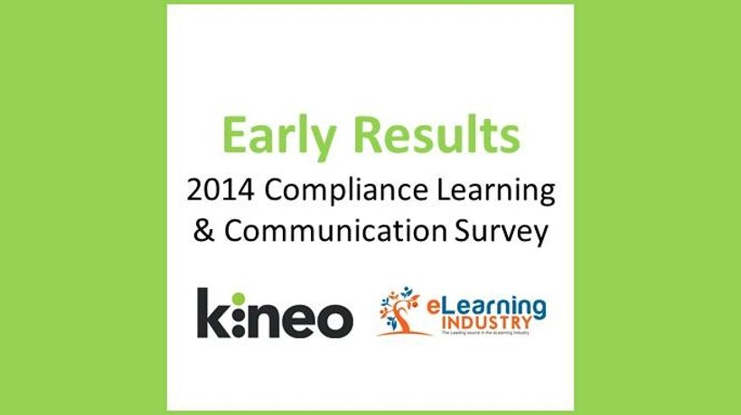 Early results - 2014 Compliance Learning Αnd Communication Survey Results