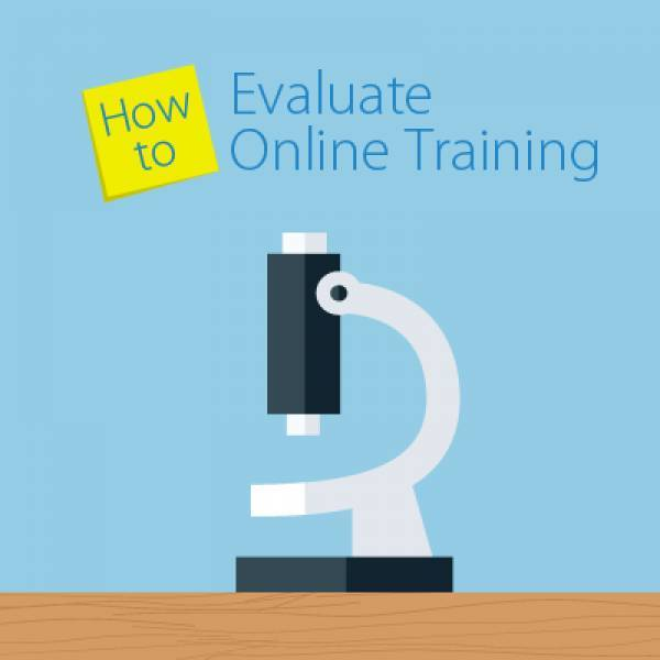 How to Evaluate Your Online Training