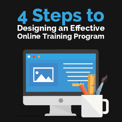 4 Steps to Designing an Effective Online Training Program