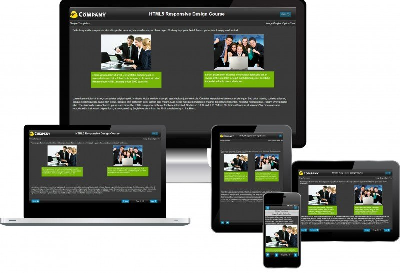 Multi Devices Responsive eLearning Design