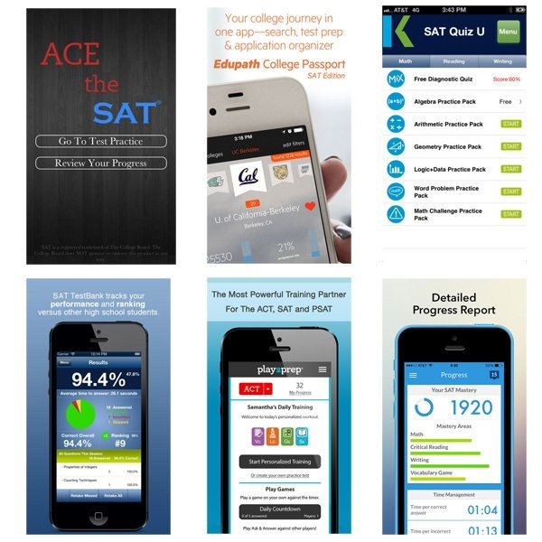 6 Great SAT Prep Apps