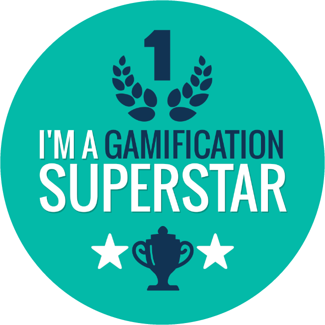 i'm a gamification superstar badge