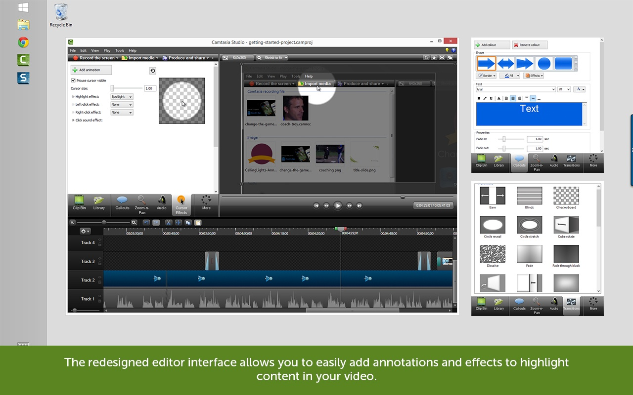 10 Free Camtasia Studio 8 Video Tutorials About Editing