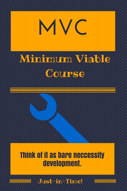 Minimum Viable Courses will be an eLearning development trend in 2015.