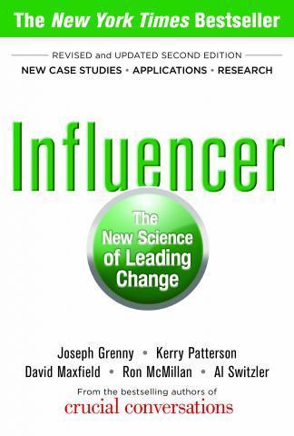 Influencer book cover