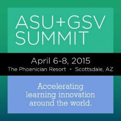 ASU + GSV Summit 2015