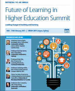 Future of Learning in Higher Education Summit