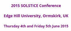 SOLSTICE 2015
