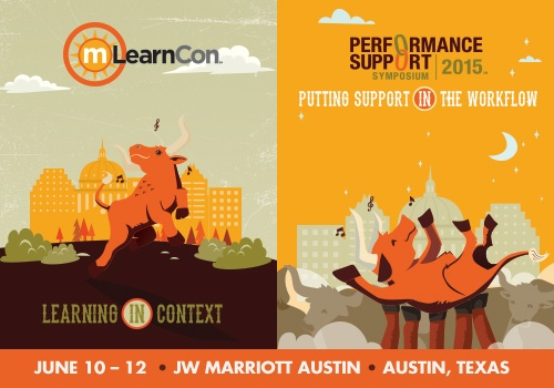 mLearnCon and Performance Support Symposium 2015