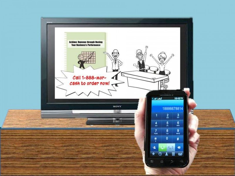 Spice Up Your eLearning tv with vidoe end on it and phone