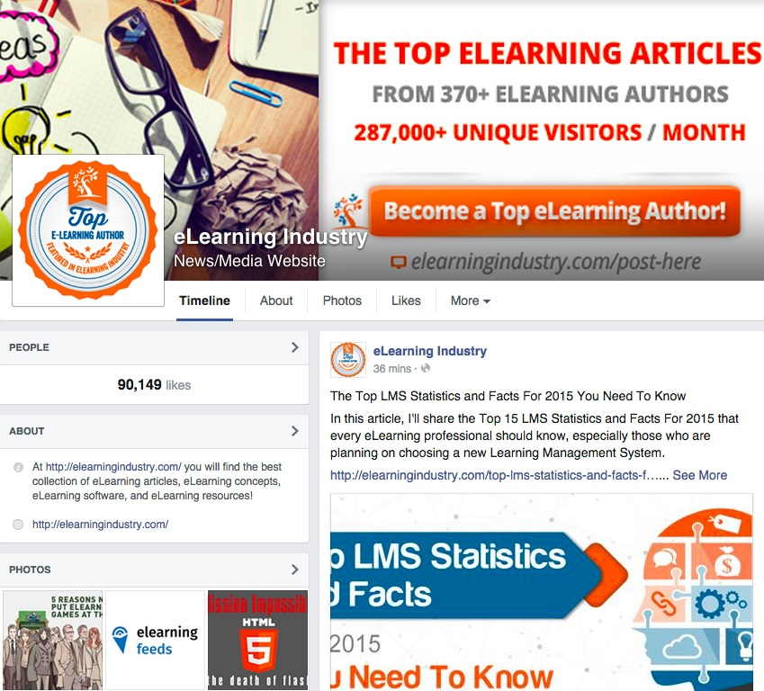 Using Facebook For eLearning: The Ultimate Guide For eLearning Professionals
