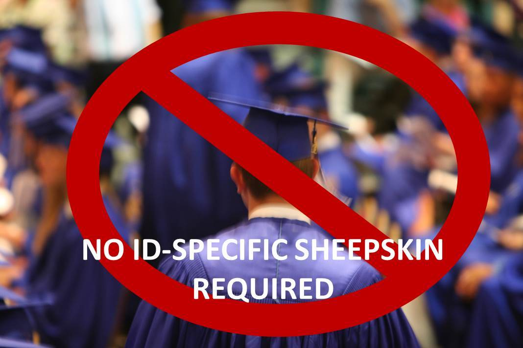 Although a college degree is required for high-level ID jobs, you don't need an instructional-design specfic degree. Experience and portfolios count more than the specialized sheepskin.