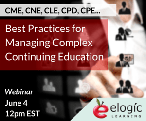 Free Webinar: Best Practices for Managing Complex Continuing Education