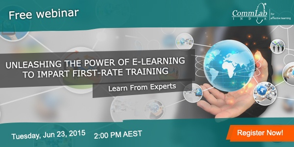 Free Live Webinar: Unleashing The Power Of E-learning To Impart First-rate Training