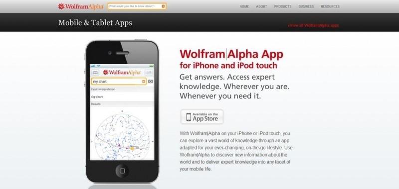 Wolfhram Alpha