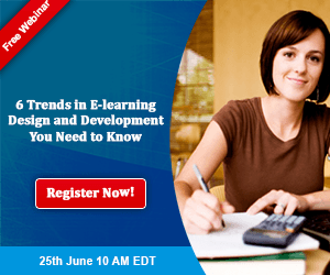Free Webinar: 6 Trends in E-learning Design and Development You Need to Know
