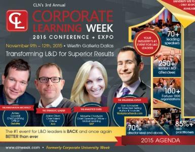 Corporate Learning Week 2015