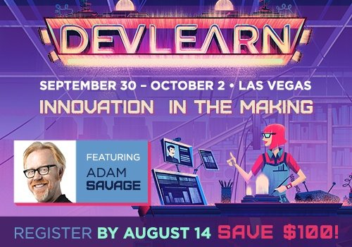 DevLearn 2015: Only 3 Days Left To Save $100 or More!