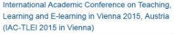 IAC-TLEl 2015 in Vienna