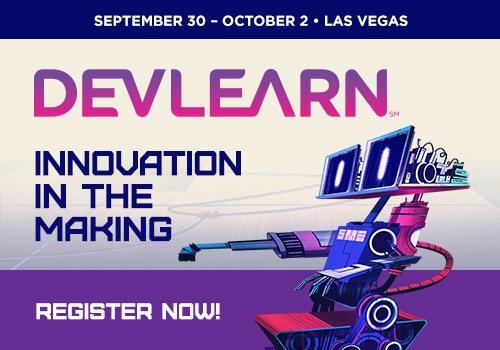 DevLearn 2015 - Last Chance!