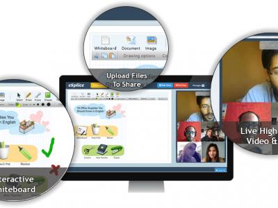 Screenshot of LearnCube Virtual Classrooms