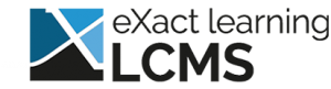 eXact learning LCMS logo