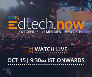 WizIQ Edtech.Now - A Premier Education Technology Conclave