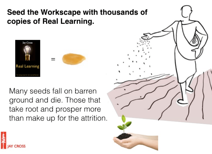 Real Learning: Seed the Workscape with thousands of copies of Real Learning.