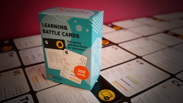 Learning Battle Cards On My Desk! At Least!