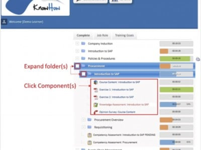 Screenshot of KnowHow
