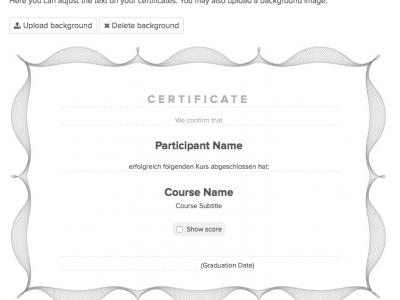Screenshot of Coursepath