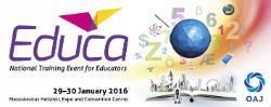 EDUCA 2016 - National Training Event for Educators