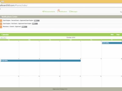 Screenshot of KALBOARD360