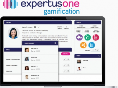 Screenshot of ExpertusONE LMS