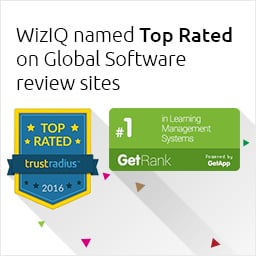 WizIQ Named Top Rated On Global Software Review Sites TrustRadius & GetApp!
