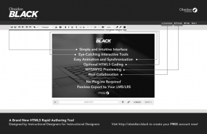 Rapid eLearning Authoring Tool Obsidian Black - Better Than Ever