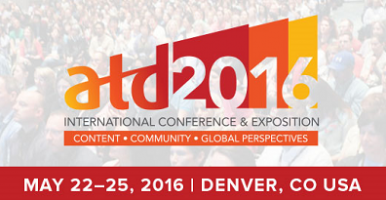 ATD 2016 International Conference And Exposition