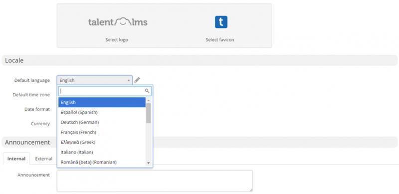 TalentLMS flexible UI