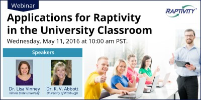 Applications For Raptivity In The University Classroom