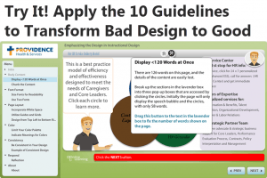 10 Guidelines To Emphasize Visual Design In Your eLearning