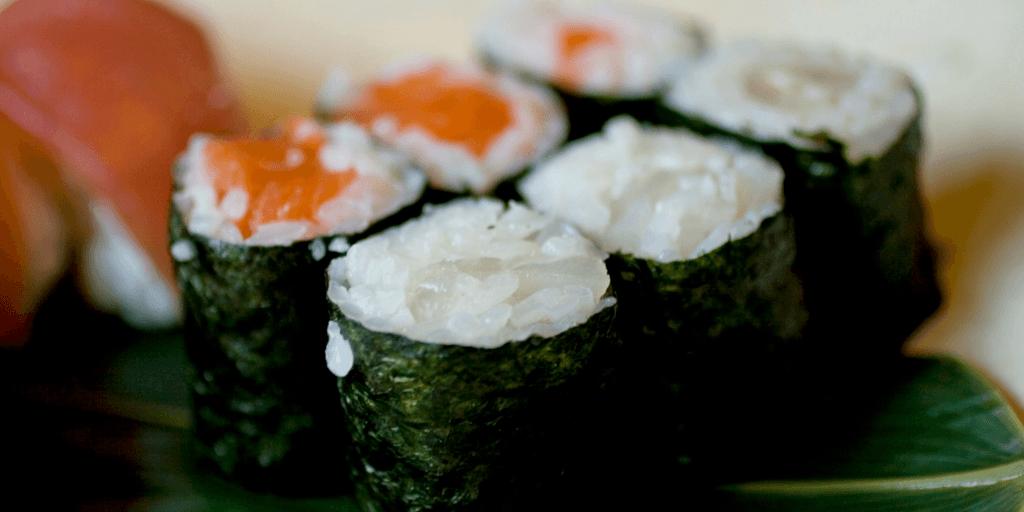 bite size learning sushi