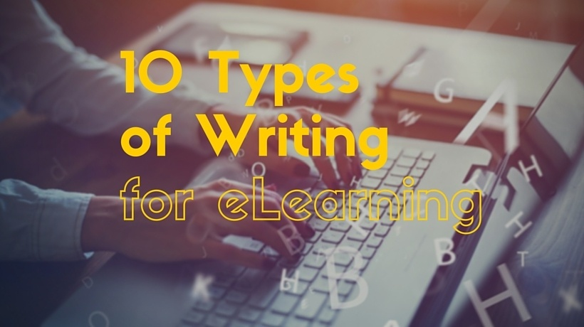 10 Types Of Writing For eLearning
