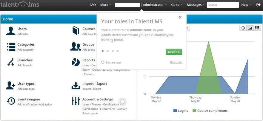 TalentLMS tooltips