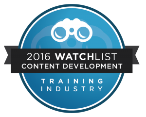 G-Cube Among Training Industry Content Development Companies Watchlist 2016