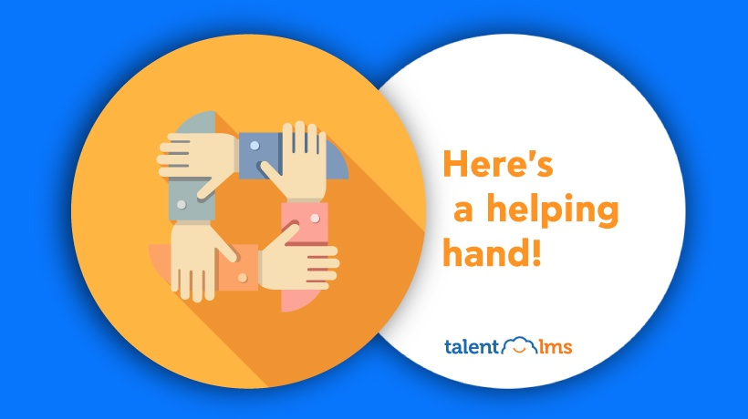 With A Little Help From My LMS: TalentLMS' Help Options