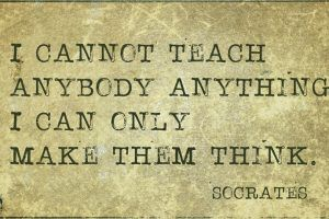 Socrates Knew A Thing Or Two About Training Minds: Questioning As The Engine Of Training